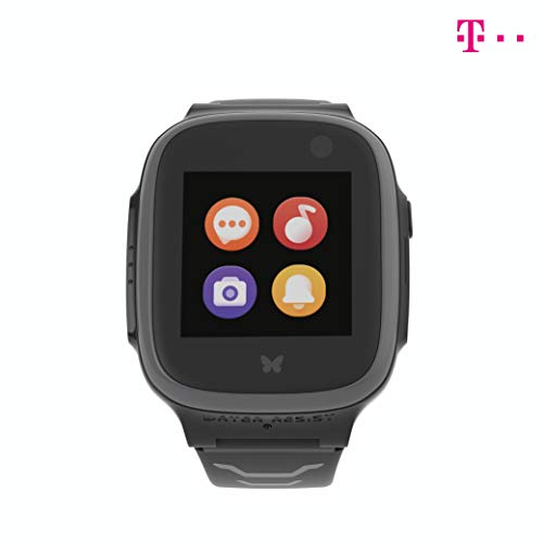 Telekom X5 Play eSIM Grau Smartwatch für Kinder und 30€ Amazon-Gutschein | Kinderuhr mit GPS | Telefonuhr | GPS-Uhr