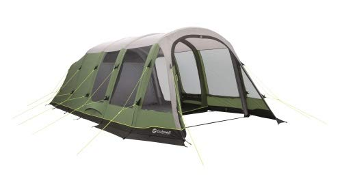 Outwell Woodburg 6A Air tent, Green, 6-Person
