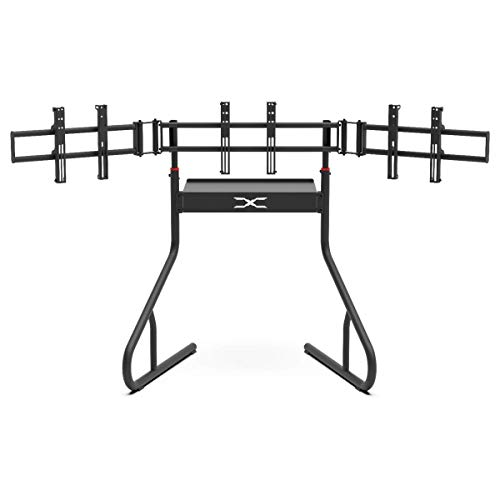 Extreme Sim Racing Triple Screen Tv Stand Add-on Upgrade With Back...