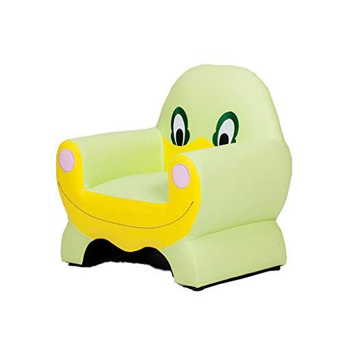 CAO-CHR Little Shark Fauteuil Canapé Kids Toddlers Canapé Seat Mini Fauteuil Enfants - Décoration | 1-13 Ans, Fauteuil Bébé (Couleur : Green)