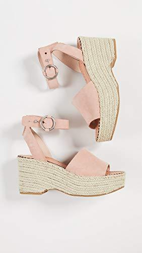 Dolce Vita Women's Lesly Ankle Strap Espadrilles, Rose, Pink, 9 Medium US