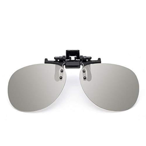 SKYYKS 3D-Brille Clips Kino gewidmet Polarisation Polarisation 3D-Fernseher Stereo Männer Frauen Kinder langlebig nützlich