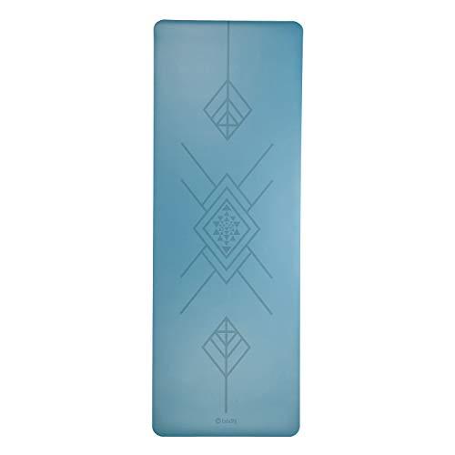 Bodhi Design Yogamatte Phoenix Mat, blau mit Tribalign