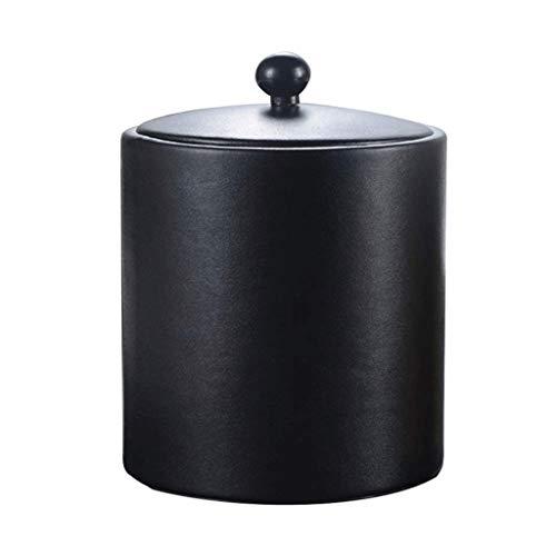 GZQDX Cubo de Hielo Funda Interior de Acero Inoxidable Cubo de Hielo Barra de Barril Cubo de Hielo con Barra de Tapa Cubo de Hielo con Filtro Compartimento de Hielo