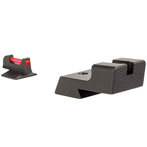 Trijicon, Fiber Sight Set, Glock Models: 1911 Novak Low Mount Dovetail Cut Models