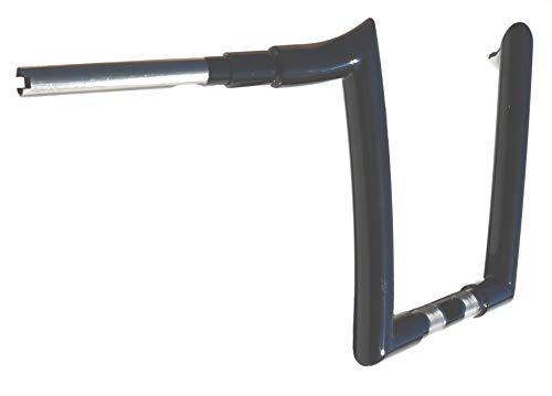 'USA MADE' JSR FAT 1.5 inch RAPTOR 1 1/2' ROAD GLIDE APE HANGER HANDLEBAR 14' rise gloss black apehanger for Harley Road Glide 2015-2020