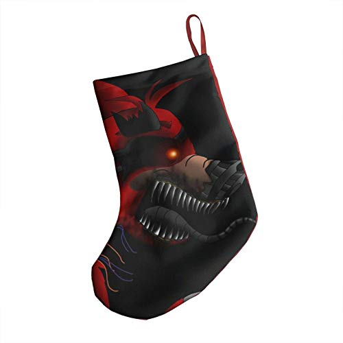 Five Nights At Freddy'S 18inch Christmas Stockings, Essential Decorations For Christmas, Halloween And Other Holidays