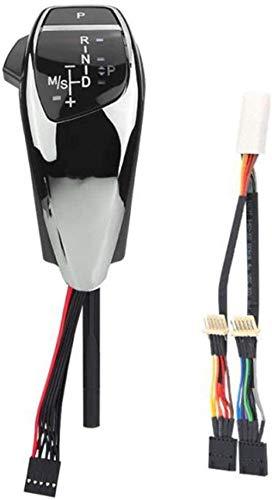 Pomello del Cambio LDJTO , per BMW E90 E91 E93 E81 E82 E84 E87 E88 E89 2012 , per Serie F Design LHD Pomello del Cambio Automatico Manopola con luci Pomello del Cambio