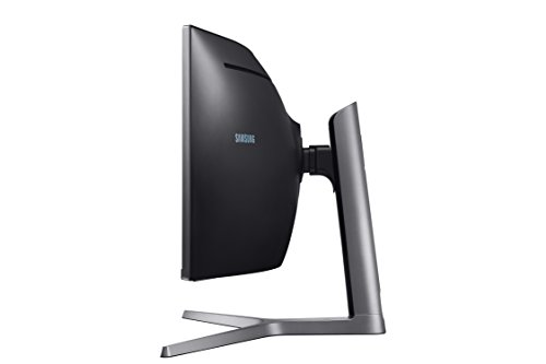 Samsung C49HG90DMU 124,20 cm (49 Zoll) LED Multitasking Monitor (2x HDMI, Display Port, Mini-Display Port, USB, 3840 x 1080 Pixel) mattschwarz - 2