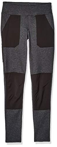 Carhartt Women's Force Stretch Utility Legging (Regular and Plus Sizes), Black Heather, Large