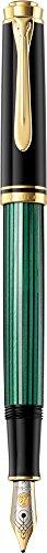 Pelikan Souveran 300 Black Green Fountainpen
