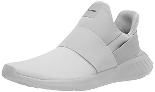 Reebok Women's LITE Slip ON Running Shoe, Stucco/Modern Beige/Black, 9 M US