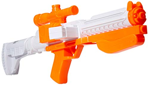 """""""There's been an awakening. Have you felt it?"""" Complete your Captain Phasma costume with this officially licensed Star Wars: The Force Awakens Blaster costume accessory! Cast in high-impact white and orange plastic, this cool costume accessory measur..."""