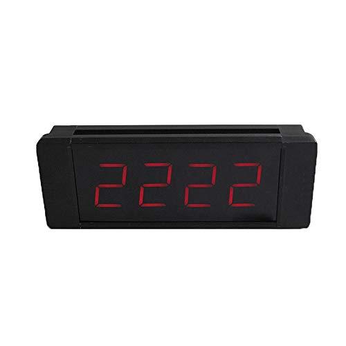 Countdown Timer EIN Programmierbarer Intervallzeitgeber Teuer Turnhallen-Wand Eine Drahtlose Fernbedienung Mit Timer Großer Countdown-Timer (Farbe : Schwarz, Größe : 25X10X4CM)