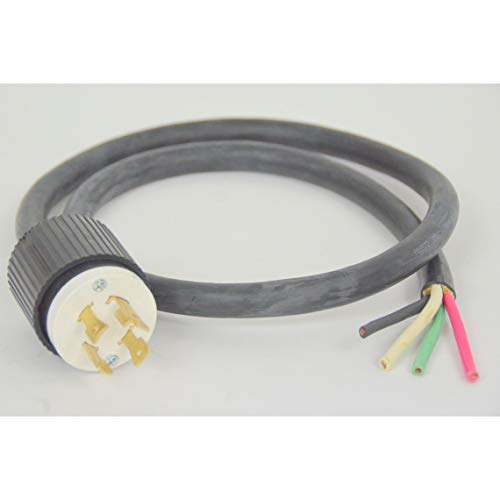 Electrical Cord Plug Sets Coffee Espresso Machines 220v L6-30p L14-30p 208-240v 30A