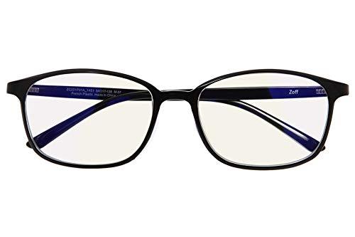 ウェリントン型 PCメガネ(度なし)|Zoff PC ULTRA TYPE(ブルーライトカット率約50%)|ゾフ PC 透明レン...