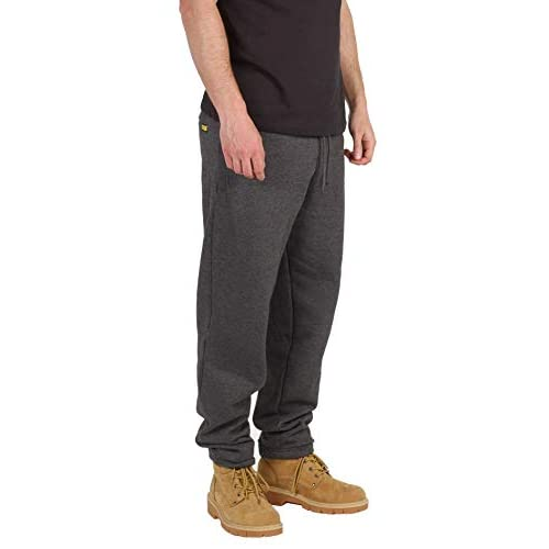 SITE KING Mens Tracksuit Fleece Pants Sports Work Casual Jogging Running Bottoms