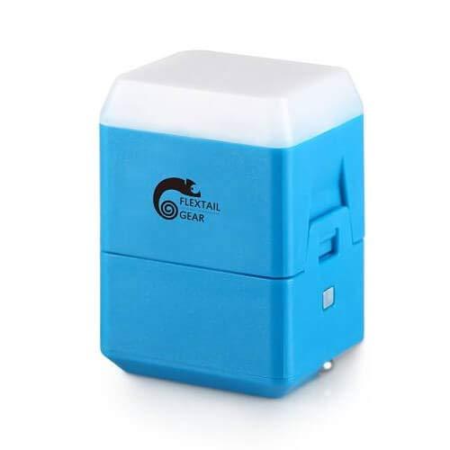 Flextail Gear camping lantaarn Helio - de kleinste - Blauw