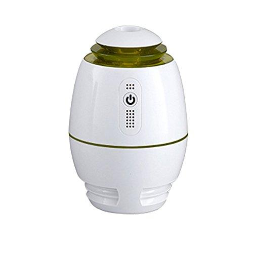 LX7 Aromathérapie Huile Essentielle Diffuseur Cool Mist Humidificateur 300 M Ultrasonique Parfait La Maison, Bureau, Salon, Spa,Green
