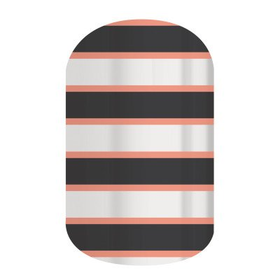 Jamberry Nails - Jersey Girl (Half Sheet)