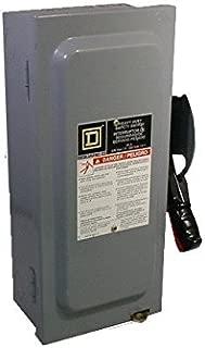 NEW IN BOX Square D HU362 HD Safety Switch Non-Fusible 600V 60A 3P NEMA1