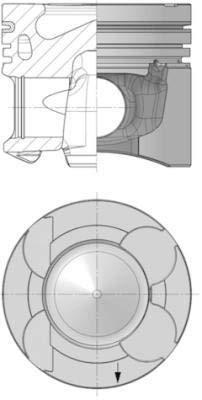 Kolbenschmidt 40363601 Kolben & Ringe