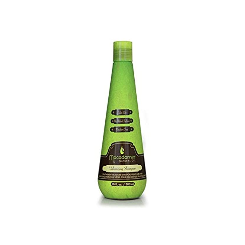 自宅で倫理的寄り添うMacadamia Volumising Shampoo 300ml (Pack of 6) - マカダミアシャンプー300ミリリットル x6 [並行輸入品]