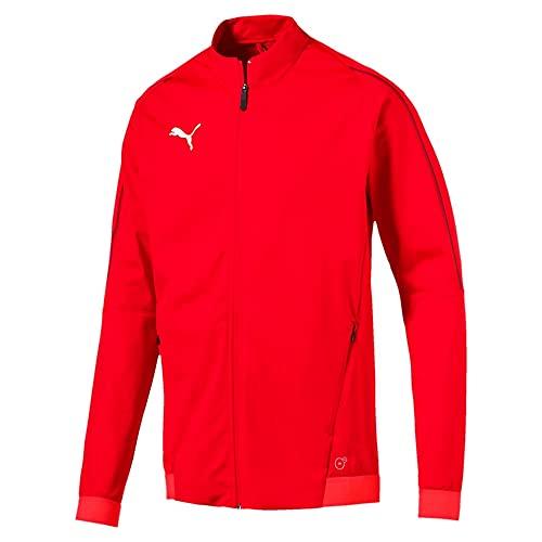 PUMA Final Training Veste de survêtement Homme, Rouge Noir, FR : M (Taille Fabricant : M)