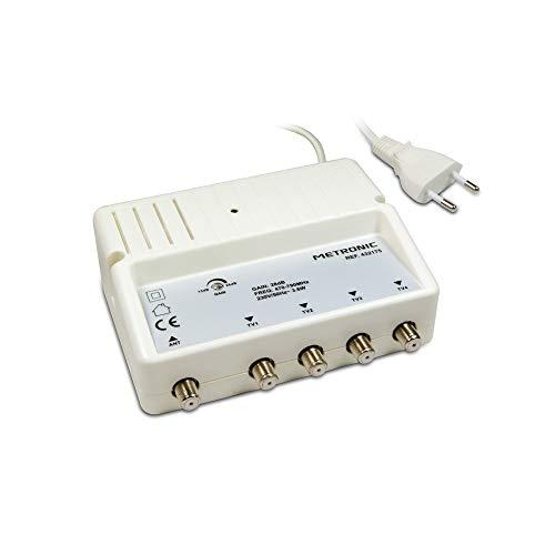Metronic 432175 - Amplificador señal de Antena TV
