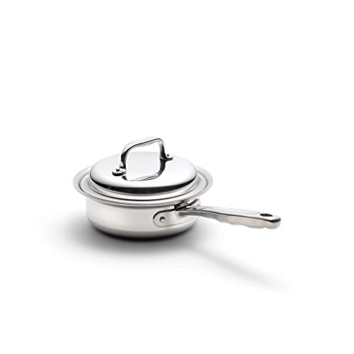 360 Stainless Steel Sauce Pan with Lid,...