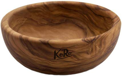 KoRo - Holzschale aus Olivenholz 16 x 6 cm - Schale aus Holz - Salatschüssel