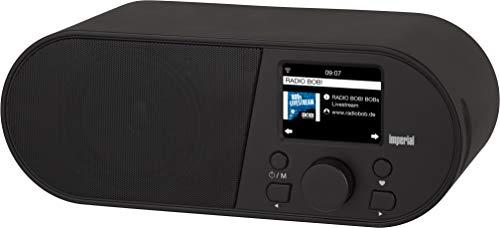 Imperial i105 Internetradio (WLAN, Mediaplayer, USB, DLNA, Farbdisplay, Wecker, Appsteuerung) schwarz