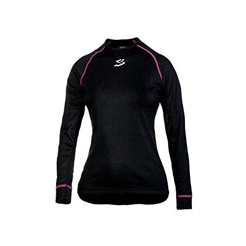 Spiuk Anatomic Camiseta Térmica, Mujer, Negro, L