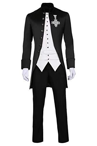 Emeritus Suit Halloween Ghost BC Band CROS Cosplay Kostüm Herren M