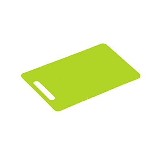 Kesper 2051554 Planche à Découper en Plastique Vert 24 x 15 x 0.5 cm