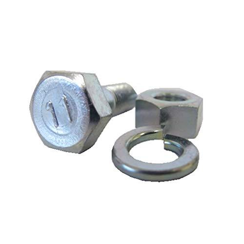 耕うん爪 取付ボルト 10本組 1セット サイズ:17×10×28 爪ボルト 日本ブレード製