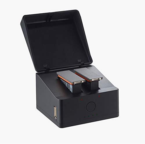 HSKB 3 in 1 batterijlader voor DJI Osmo Action Camera, snellader multi-batterij dock laadstation voor DJI Osmo Action Camera Accessoires