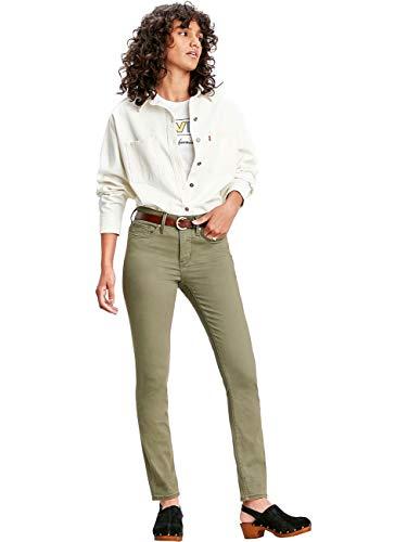 Levis® Damen Jeans Jeanshose 311 Shaping Plus Skinny Fit - Grün - Olive Night W25-W34 54% Baumwolle Figurformend, Größe:W 29 L 30, Farbvariante:Olive Night (0197)