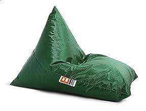 كرسي بن باج رول من بومبا 145x85x30 سم، اخضر