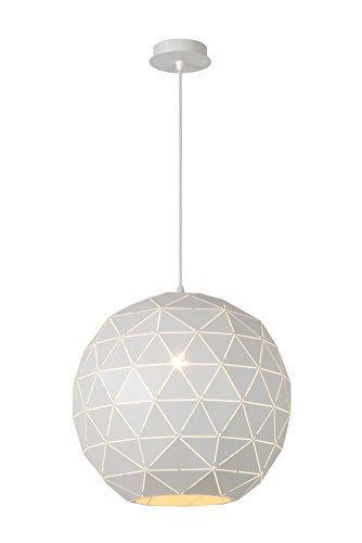 Lucide OTONA - Suspension - Ø 40 cm - Blanc