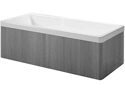 Laufen Holzverkleidung 2-TLG für Badewanne rechts weiß