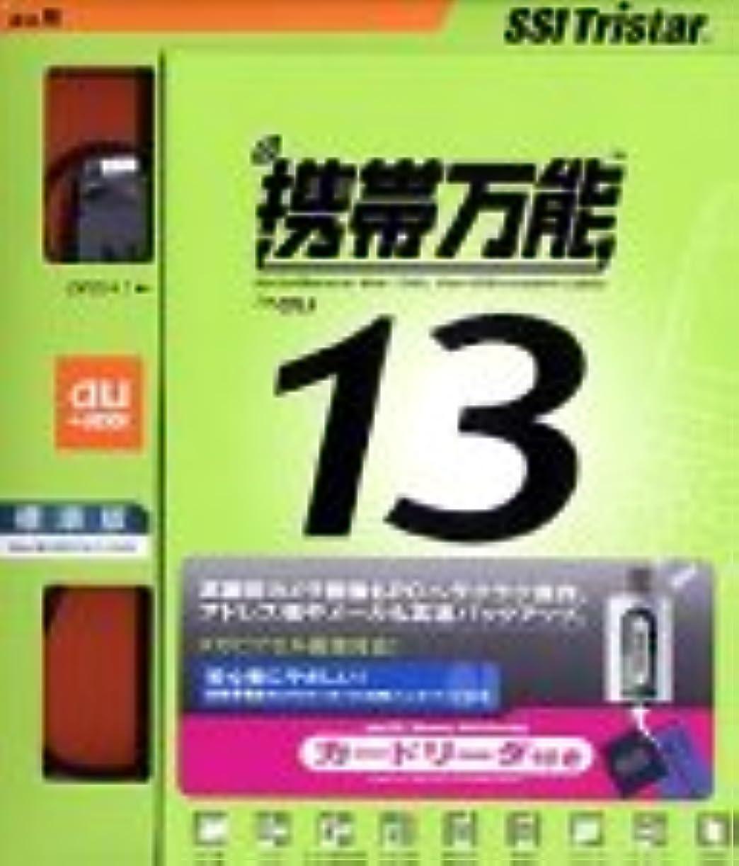 単位周辺はがき携帯万能 13 標準版 au用USBモデムケーブル+カードリーダ付