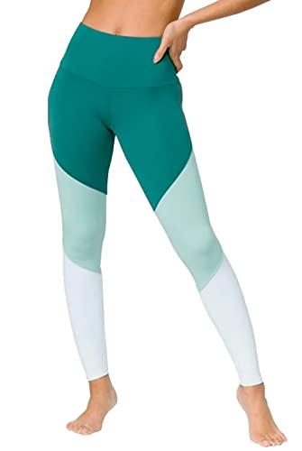 Onzie - Leggings de Yoga para Mujer - Verde - Medium/Large
