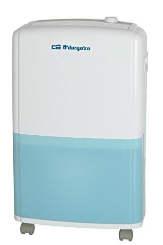 Orbegozo DH 1810 - Deshumidificador, refrigerante R410a, 120 m2, conexión para desagüe, anti-congelación, descarchado automático, 18 L/día,  3.5 L