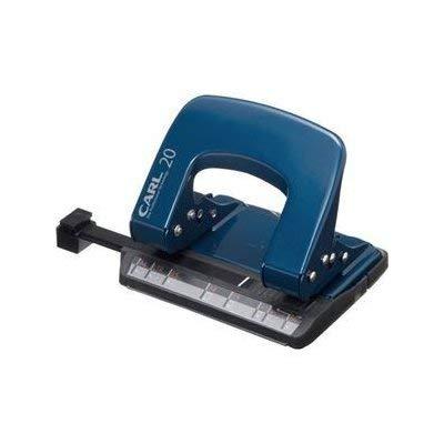 カール事務器 (業務用セット) アリシス LP-20-B 2穴・20枚 ブルー (×5セット)