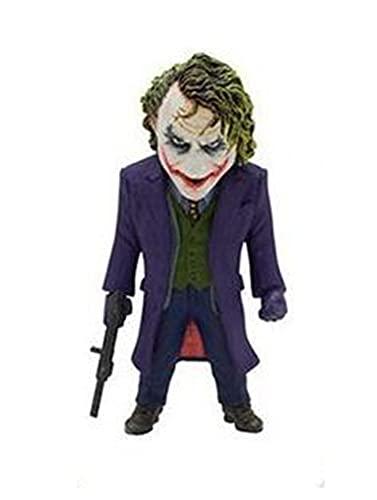 LIANGLMY Figur 1 Stück Film Clown Action Figuren Joker PVC Modell Statue Collection Kind Geschenk Spielzeug (Color : Black)