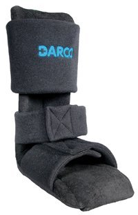 NS1B Splint Ankle Sale Special Price Heel Night Padded Black Choice Posterior Small Darco