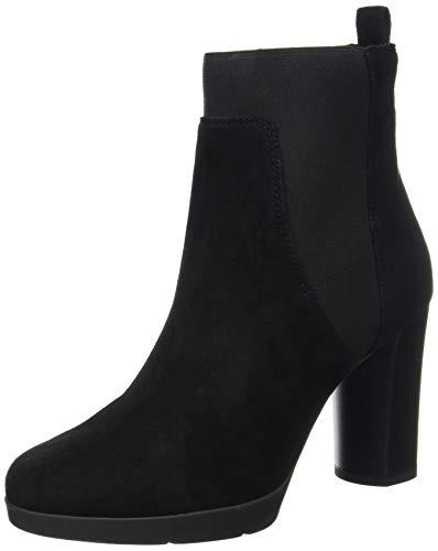 Geox Damen D Anylla High Ankle Boot, Schwarz, 38 EU