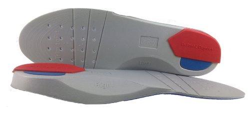 Dr Foot - Plantillas supinadoras (talla grande), 1 par, para hacer deporte