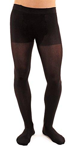 Glamory Thermoman 100 Herrenleggings Leggings de Sport, Noir, L Homme